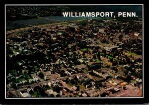 Pennsylvania Williamsport Aerial View 1986