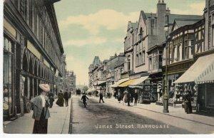 HARROGATE , England , 1900-10s ; James Street