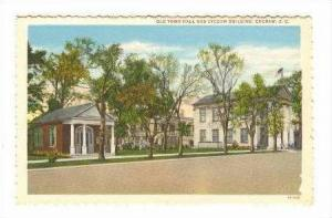 Old Town Hall & Lyceum Bldg, Cheraw, South Carolina, 30-40s