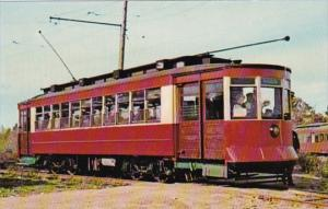 Maine Kennebunkport Chicago Railways Trolley No 225 Seashore Trolley Museum