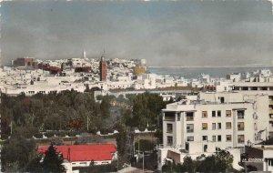 RPPC RABAT Le Triangle de vue et les Oudaias Morocco c1940s Vintage Postcard