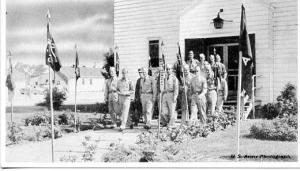 NJ - Fort Dix, Soldiers leaving Chapel (U.S. Army Photo)