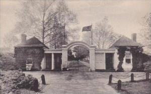 Virginia Mt Vernon Home Of George Washington North Lodge Gate-Albertype