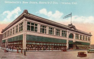 13293 Gottschalk's New Department Store, Fresno, California