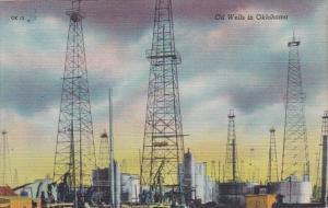 Oklahoma Oklahoma City Typical Oil Wells