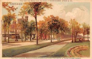 US Chicago, On Lake Shore Drive, Ederheimer, Stein & Co. High-Class Clothes