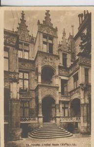 Postal 009074: Tours, Hotel Gouin