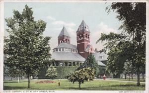 Library, University of Michigan , ANN ARBOR , Michigan , PU-1911