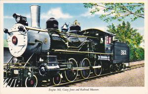 Locomotive Engine Number 382 Casey Jones Railroad Museum Jackson Tennessee