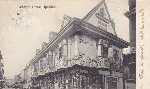 IPSWICH, Suffolk, England, PU-1905; Ancient House