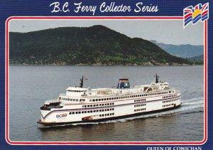 Canada Ferry Queen Of Cowichan British Columbia Ferries