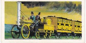 Trade Cards Brooke Bond Tea Transport Through the Ages No 18 Rocket