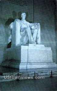 Lincoln Statue, District Of Columbia