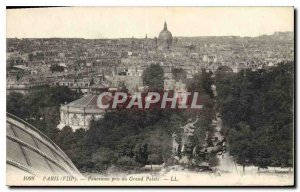 Old Postcard Panorama Paris VIII took the Grand Palais