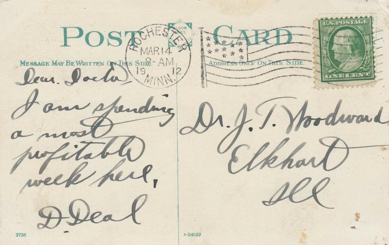 ROCHESTER , Minnesota , PU-1912 ; New Post Office