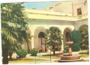 Livadia Sanatorium, Italian Courtyard, Crimea, Livadia, Ukraine, PU-1972