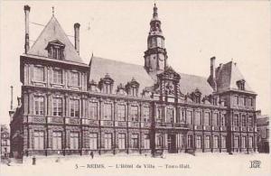 France Reims L'Hotel de Ville Town Hall