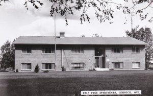 RP, NORWICH , Ontario, Canada, 1920-1940s ; Twin Pine Apartments