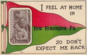 Pennsylvania New Kensington 1913 Pennant Series