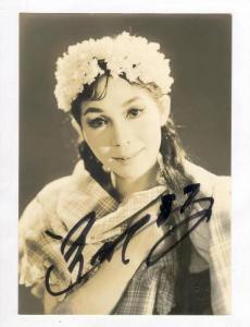 Autographed Photo Sctress of Takarazuka Company, All Female Theatre, Tokyo, J...