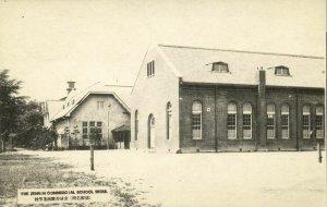 korea coree, SEOUL KEIJO, Zenrin Commercial School (1910s) Postcard