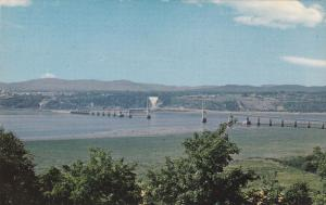 Bridge Going From QUEBEC CITY to Ille d'Orleans, Quebec, Canada, 40-60´s
