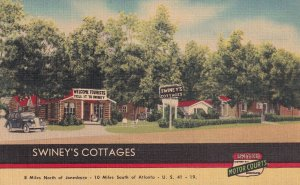GEORGIA, 1930-1940'S; Swiney's Cottages, U.S. 41-19