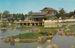 Canada Alberta Lethbridge Authentic Japanese Garden