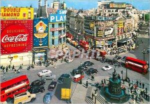 Modern Postcard Piccadilly Circus London Coke Coke BP