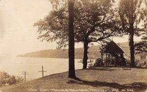 Port Kent New York Tremblau Hall Real Photo Antique Postcard K43474