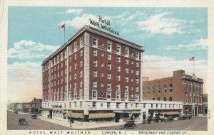CAMDEN, New Jersey , 1910-20s; Hotel Walt Whitman, Broadway & Cooper St.