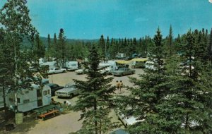 Belle Province , Quebec, Canada, 1960s-80s ; Camping