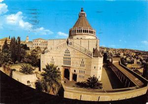 Israel Nazareth the Church of the Annunciation Viewed Through Fisheye Lens