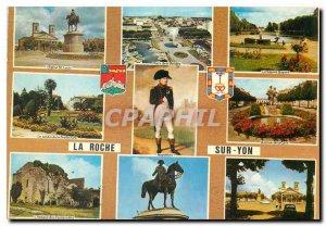 Modern Postcard La Roche sur Yon (Vendee) Napoleon 1st