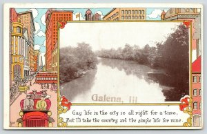The Country & Simple Life in Galena Illinois~Artist Bishop: Gay City Life~1912