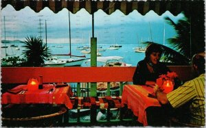 Anchor Inn Restaurant Christiansted St. Croix VI c1980 Postcard E88