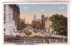 Trolley, Cars, Pennsylvania Ave, Washington DC,