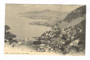 Aerial View, Montreux (Vaud), Switzerland, 1900-1910s