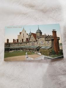 Antique Postcard Windsor Castle, Cloisters.  Unposted