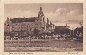 Strandschloss, See-und Solbad Kolberg, Switzerland, 1910-1920s