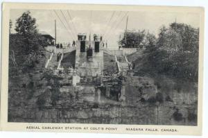 W/B Aerial Cableway Station at Colt's Point Niagara Falls ON