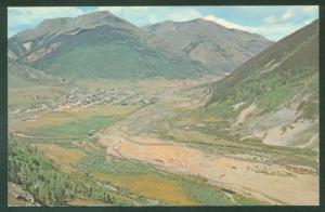 Silverton Denver Rio Grande Western NARROW GAUGE Mountains Railroad Postcard