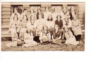 Real Photo School Class 23-24 Grade XII Halifax Nova Scotia, Students' Names