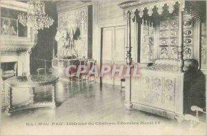 Postcard Old House Pau Interieur du Chateau Henry IV