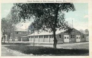 WI - Monroe, Stock Pavilion at Fairgrounds