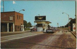 1960's Main Gate, U. S. Naval Air Station, Rhode Island Postcard