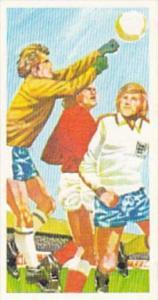 Brooke Bond Trade Card Play Better Soccer No 17 Goalkeeper's Punch