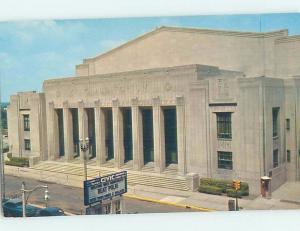 Unused Pre-1980 AUDITORIUM SCENE Grand Rapids Michigan MI G2740