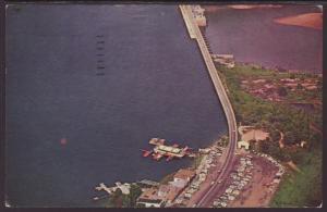Bagnell Dam Lake of the Ozarks,AR Postcard BIN