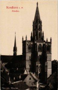 CPA AK Konstanz Munster GERMANY (892903)